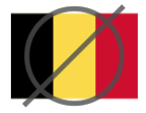 Запрещенная страны Бельгия