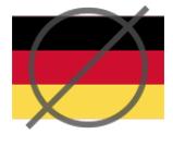 Запрещенная страны Германия
