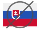 Запрещенная страны Словакия